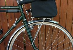 Gilles Berthoud rack and a new front bag