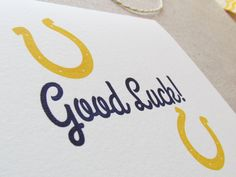 Good Luck Cards, Papercutting, Color Card, Diy Cards, Letterpress, Card Making, Stationery, Unique Jewelry, Handmade Gifts