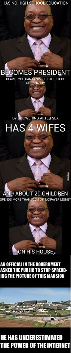 Meet my president: Jacob Zuma