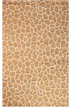Giraffe Area Rug - Wool Rugs - Contemporary Rugs - Rugs   HomeDecorators.com