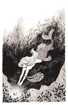 Mermaid by heikala.deviantart.com on @DeviantArt