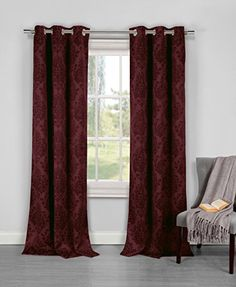 Duck River Textiles Phelan Damask Textured Pair Panel, Red Wine Duck River Textiles http://www.amazon.com/dp/B00SF5VC7W/ref=cm_sw_r_pi_dp_uz0pvb034EG03