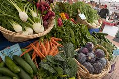 The Davis garden hopes to start a farmer's market at the school selling items you see in the picture.