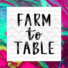 farm to table   svg  cut file  svg file  svg cut…