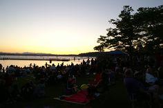 Coulon Park, Renton WA at sunset