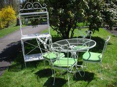 pin by katie henske on vintage metal housewares u0026 furnishings pinterest vintage patio vintage metal and patios