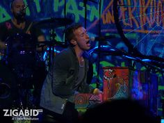 Coldplay performs at Club Nokia in Los Angeles, on 2.8.12. Find the best seats in the house on Zigabid.com!