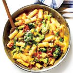 Bacon and Broccoli Mac and Cheese Recipe | MyRecipes.com