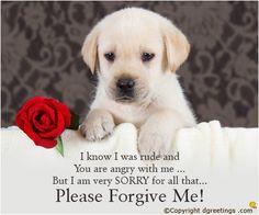 Forgive me ecards