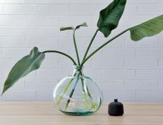 Tall Flowers, Artificial Plants, Recycled Glass, Glass Vase, Recycling, Home Decor, Fake Plants, Decoration Home, Room Decor