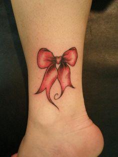 Bow leg tattoo - 50 Incredible Leg Tattoos