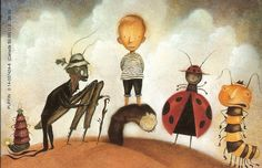 James and the Giant Peach illustrated by Lane Smith | tygertale
