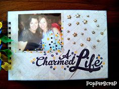 Album Simple Stories A charmed life #simplestories #album #scrap #scrapbook #scrapbooking #acharmedlife