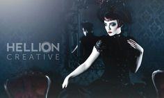 industrialmusicblog:    Pretty Goth Art from upcoming Artist
