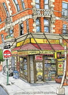 Williamsburg Bodega by tkane9 on Etsy, $35.00