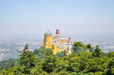 Pena Palace in Sintra | 19 Places You Can't Miss in Portugal | The best cities, beaches, islands and towns to visit in the beautiful country of Portugal,
