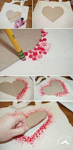 srdce na tašce