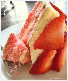 Strawberry Lemonade Layer Cake
