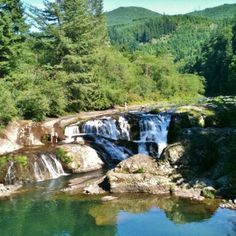 Secret Swimming Hole - Dougan Falls Washougal, WA. summer. river day trip from portland.