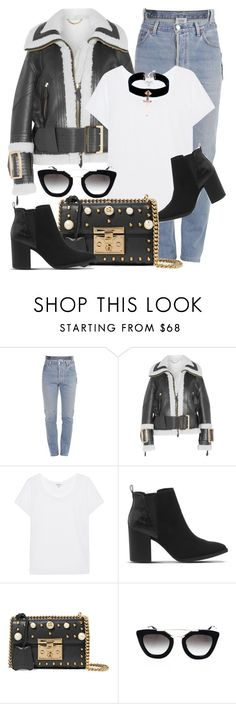 """""""Next Level"""" by monmondefou ❤ liked on Polyvore featuring Vetements, Burberry, Splendid, Office, Gucci, Prada, VSA, casual, black and everydaylook"""