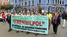Convocan a plantón por norma que iguala pensiones con sueldos en FFAA y PNP