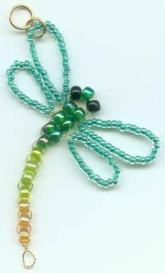 5 DIY Tutorials to Create Dragon Fly Jewelry ***2 videos*** by Jersica