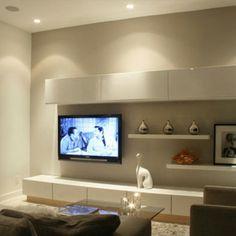 Sala de estar. Inspiração na cor branca