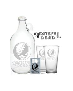 Hey, I found this really awesome Etsy listing at https://www.etsy.com/listing/222747856/grateful-dead-growler-64oz-beer-growler