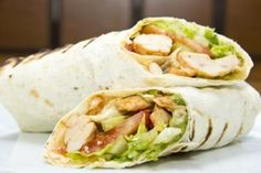 Learn how to prepare many different Greek Gyro sandwhiches, wraps and plate meals. Chicken Menu, Greek Chicken Recipes, Chicken Wraps, Grilled Chicken, Healthy Eating Recipes, Vegetarian Recipes, Healthy Meals, Popeyes Menu, Tortillas