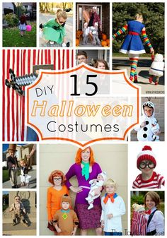 Awesome DIY Halloween Costumes your kids will love! Halloween Makeup Witch, Cute Halloween Costumes, Halloween Crafts For Kids, Halloween Projects, Holidays Halloween, Diy Costumes, Happy Halloween, Halloween Party, Halloween Decorations