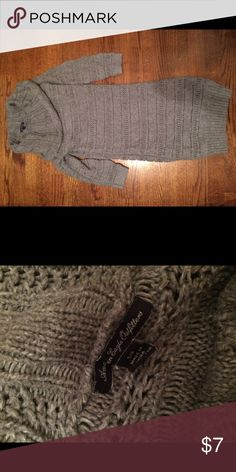 AE sweater dress Comfy, cowl neck sweater dress American Eagle Outfitters Dresses