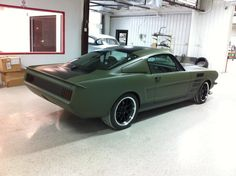 Custom Ford Mustang Fastback by The RestoMod Store.