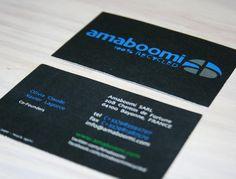 CARTE DE VISITE Amaboomi 85 X 54 Cm Papier 300g Recycle Cyclus Print