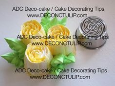 ADC Russian nozzle - Malaysian style Tip #46 Russian Cake Decorating Tips, Cake Decorating Piping, Cookie Decorating, Russian Pastries, Russian Cakes, Russian Nozzles, Russian Piping Tips, Frosting Tips, New Cake