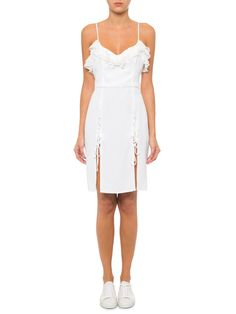 Vestido Tati - Carina Duek - Off White   - Shop2gether