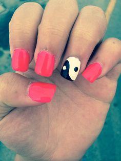 cute ying yang design