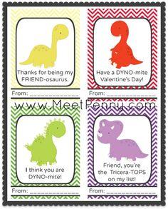 Free Printable Dinosaurs Valentine's Day Cards Dinosaur Valentines, Hate Valentines Day, Easy Valentine Crafts, Valentine Gifts, Printable Valentines Day Cards, Valentine's Day Printables, San Valentino, Cupid, Free Printable