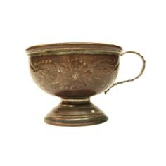 Antique Copper Cup Harts Silversmiths England Anointing by Yonks