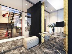 Projekt apartamentu w Gdyni - Średni hol / przedpokój, styl nowoczesny - zdjęcie od Arte Dizain