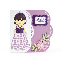 Good morning and welcome to the blog today. I have two cute girlies to share with you from the new Dressables collection from Tonic S... Tonic Cards, Elizabeth Craft, Kids Birthday Cards, Kids Cards, Hobbies And Crafts, Birthdays, Dolls, Children, Cute