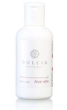 Hojivý gel s aloe vera Dulcia (90 ml). Využijte naší dopravy zdarma při nákupu nad 890 Kč nebo výdejního místa zdarma v Praze. Přijďte se na výrobky podívat osobně do našeho showroomu. Aloe Vera, Shampoo, Personal Care, Bottle, Natural, Self Care, Personal Hygiene, Flask, Nature