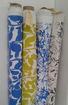 Caversham Textiles, hand printed fabrics