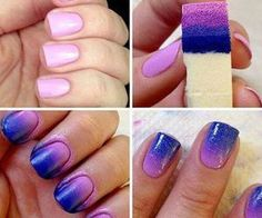 How to ombre your nails!