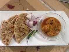 Khooba roti (Indian flat bread)