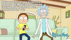 Rick and Morty words of wisdom