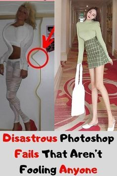 Disastrous Photoshop Fails That Aren't Fooling Anyone Photoshop Fail, Photoshop Ideas, Photoshop Tutorial, Sequin Party Dress, Trending Today, The Fool, Casual Shirts, Photo Editing, Evening Dresses