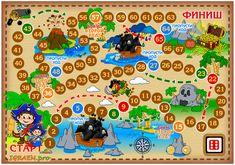 игра ходилка своими руками - Поиск в Google Pirate Activities, Craft Activities For Kids, Book Activities, Games For Kids, Games To Play, Crafts For Kids, Imprimibles Toy Story Gratis, Printable Board Games, Board Game Design