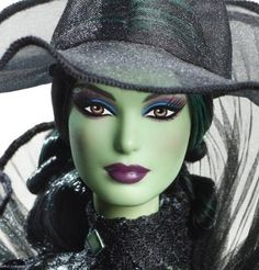 Barbie Fantasy Glamour Wizard of OZ Wicked Witch Babie Collector Exclusive