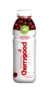 Cherrygood has launched Cherrygood Plus in 500ml format packed with the antioxidant punch of 1000 pressed Montmorency cherries. Potential Beverage Innovation Awards winner at Drinktec?