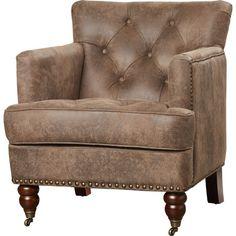 Harley Tufted Arm Chair & Reviews | Joss & Main